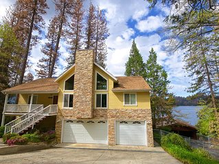 Beautiful Lake view home near Yosemite and Bass Lake Pines Village!!!
