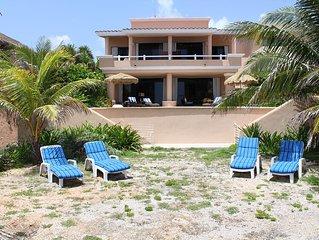 4 to 6 Bedroom-Spectacular Oceanfront Villa