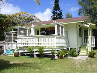 House 200 Steps to Waimanalo Beach