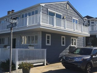 Longport, New Jersey -Beautiful Views on exclusive, quiet beach