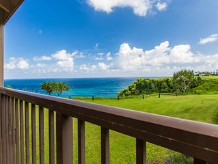 Located on an ocean bluff with an awe-inspiring blue-water view