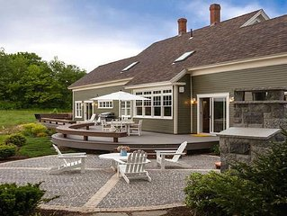 Stunning Waterfront Views, Luxuriously renovated historic 1884 Cape on 20 Acres