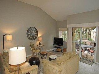 705 Barrington Park: 1 BR / 1.5 BA near ocean villas in Hilton Head, Sleeps 4