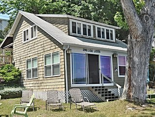 "Canoe Landing:""Updated Keuka Lake Cottage Close To Town"""
