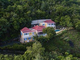 Azure Vista **ask for summer deals** Newly listed 3 bed villa near beach