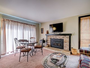 Canyons view 4: 2 bedroom 2 bath vacation rental, walk to the Cabriolet lift