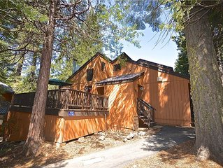 Snugglers Inn Condominium: 1 BR / 1.5 BA  in Shaver Lake, Sleeps 6