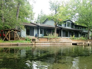 The Weaver House on the pristine Crystal River in Glen Arbor