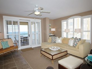 Coastal Chic Beach Colony Penthouse, Gulf Front with Awe-Inspiring Views!