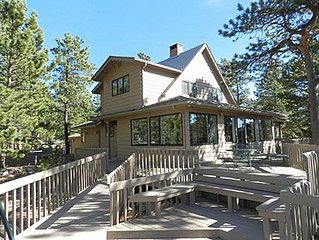 Georgious Mt. Home with Incrediable Views across from Wild Basin Entrance RMNP
