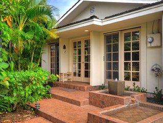 Kipuka Hale 2 Bedroom/2 Bath Vacation Home Steps from Poipu Beach