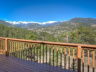 Spectacular Mountain Views Right From The Front Deck