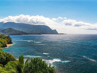 Pali Ke Kua 202. Oceanfront Luxury, with Bali Hai Views, Huge Lanais, Pool