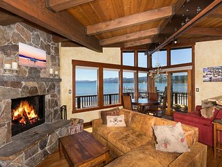 Star Harbor - On the Water - 3 BR Lakefront In Tahoe City