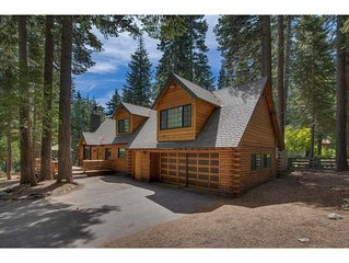 Sequoia Ranch - Log Cabin: Classic Log Home With Mountain Decor