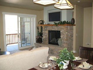 Kirkwood Luxury Condo - Right on the Slopes - Large Kitchen/Dining/Living Area