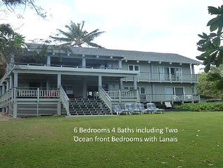 Moani Kai - 6 bedrooms, Hot tub, Beachfront
