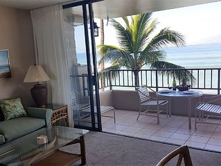 GREAT LOCATION IN WEST MAUI, SPECTACULAR OCEANFRONT VIEWS