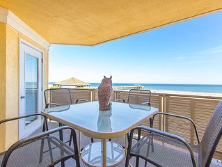 Top-Floor Oceanfront Condo, Just Steps Away from the Beach