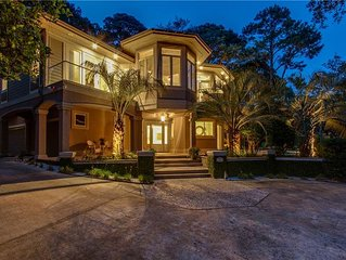 SUMMER RATES REDUCED!! Sea Pines House on Beach Path w/ Private Pool