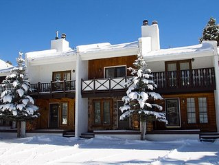 Claim Jumper Townhouse #17 - In Town, Ski In/Out, On the River, Next to Fishing