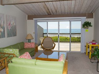3BR Multi-level Oceanfront condo, views from Principal BR and Living Area!