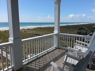 Gorgeous Oceanfront, 5 Beds, FREE Golf Cart use, Elevator, Parking