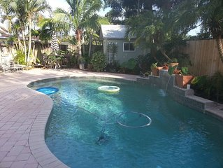 Wilton Manors 3BR/2BA House With Heated Pool