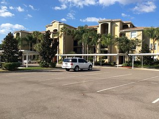 Luxury Condo in Bradenton FL, 2 BR/2BA - Great Resort Amenities, Unlimited Golf