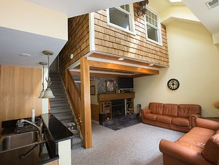 Four Season Lakefront Penthouse Condo at Big Boulder