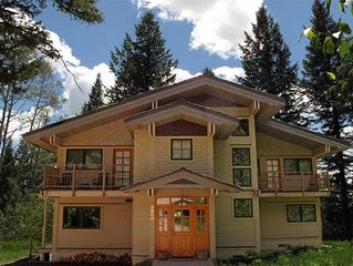 Exceptional 5 Bedroom Home in Teton Village!