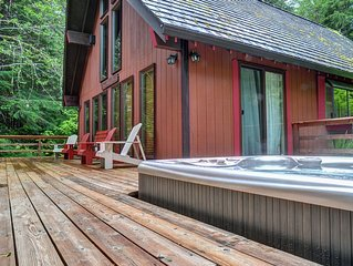 ZigZag Mtn Retreat-Hot Tub-Stone Fireplace-disc lift tics-Book Now for winter