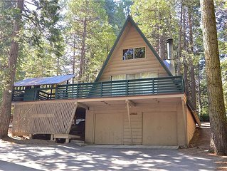 Summer Escape: 2 BR / 1 BA  in Shaver Lake, Sleeps 4