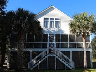 I'On Ave. 2402- Classic Beach Getaway on Sullivan's Island