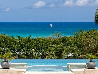 Ocean View Modern and design Villa-Few steps away from Plum Beach, Heated pool
