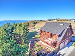 NEWLY LISTED! Beautifully Finished Home on San Juan Island with WATER VIEWS !