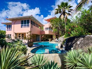 Bigger Splash: Beautiful, private villa in unspoiled Virgin Gorda w/concierge