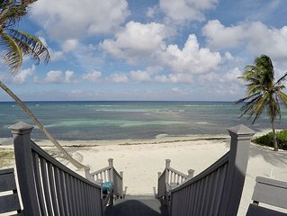 Cozy Cayman Beach Front Cottage - Emerald Sea House
