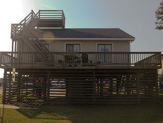 Classic OBX home with Epic Crows Nest views, short walk to the beach.