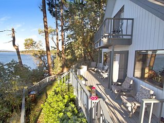 NEWLY LISTED! WATERFRONT! WHALES! AMAZING VIEWS! Cliffside Whale View.