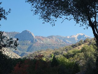 Next to Sequoia National Park Entrance and Pet Friendly!