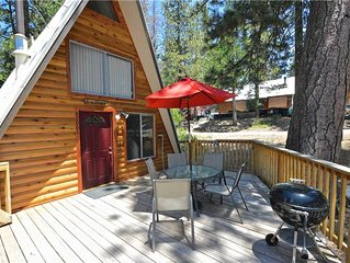 Cozy Bear Chalet: 2 BR / 1 BA  in Shaver Lake, Sleeps 6