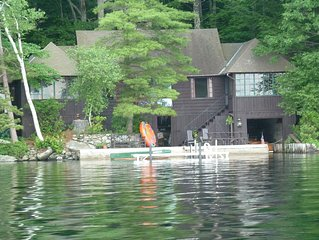 Lakefront Family Camp on Squam Lake- Amazing Views