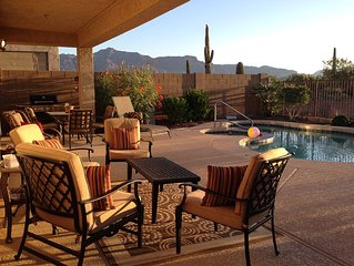 Private Backyard Pool/Spa Oasis, Desert View, Peaceful Vacation