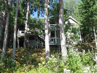 Great Harbor Springs Lakefront Home Perfect For All Seasons