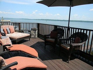 *** SALE NO BOOKING FEES MARCH AND APRIL stays*** Morning Dew: Lakefront Getaway