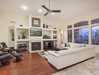 5 Bedroom Home Near TPC - 2 Car Garage, Pool, Spa, WiFi -   by Hit Rentals