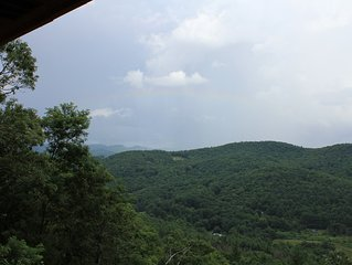 Mountain Top luxury cabin Cashiers Smokey Mountains NC USA
