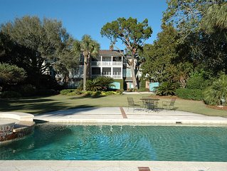 Expansive Oceanfront Estate  in St. Simons' Village