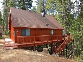 Deaver's Place: 2 BR / 1.5 BA  in Shaver Lake, Sleeps 7